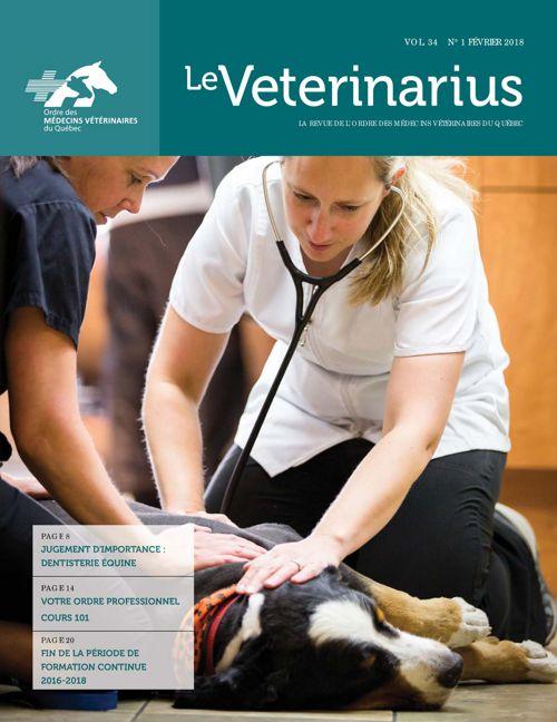 Le Veterinarius - Février 2018 Vo. 34 No 1