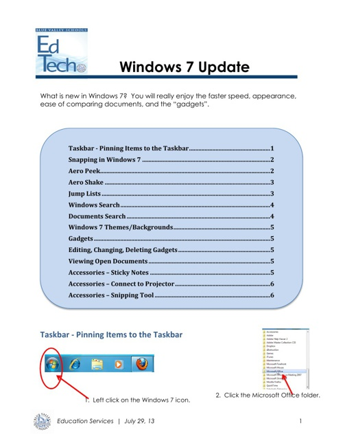 Windows 7 Update