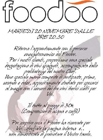 Degustazione vini spagnoli 20/11/2012