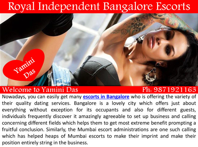 Royal Independent Bangalore Escorts Services