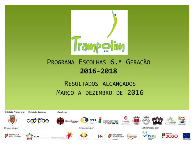 Copy of Resultados 2016 - Trampolim E6G