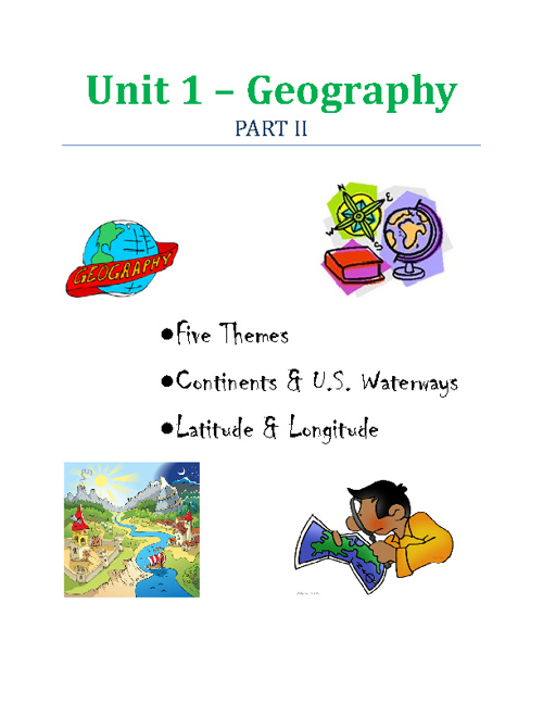 i-Notes: Geography II