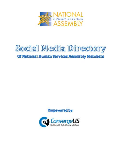 NHSA Social Media Directory