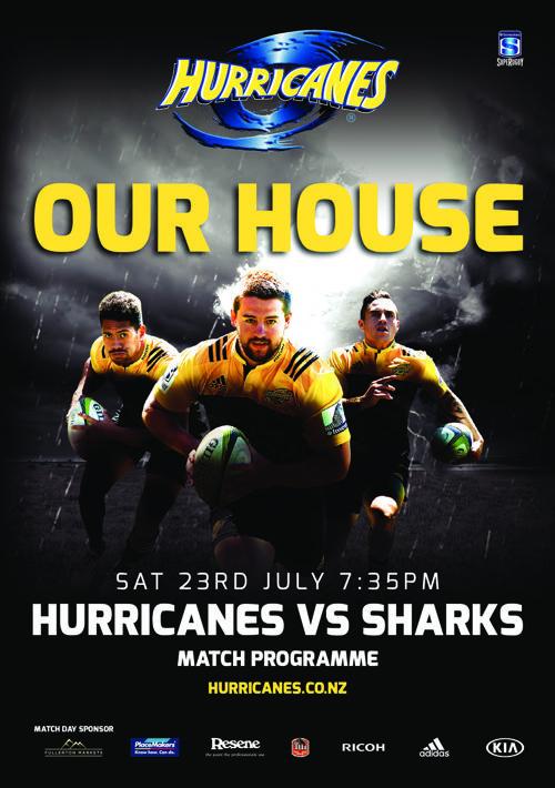 Semi Final Hurricanes vs Sharks Match Programme (E Programme)