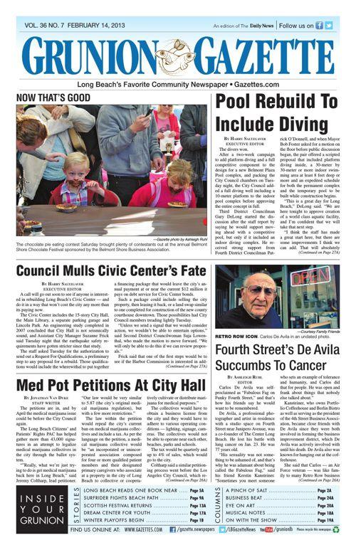 Grunion Gazette | February 14, 2013