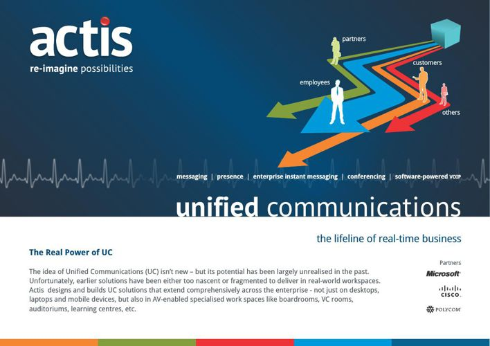 Unified Communications - The Lifeline Of Real-Time Business