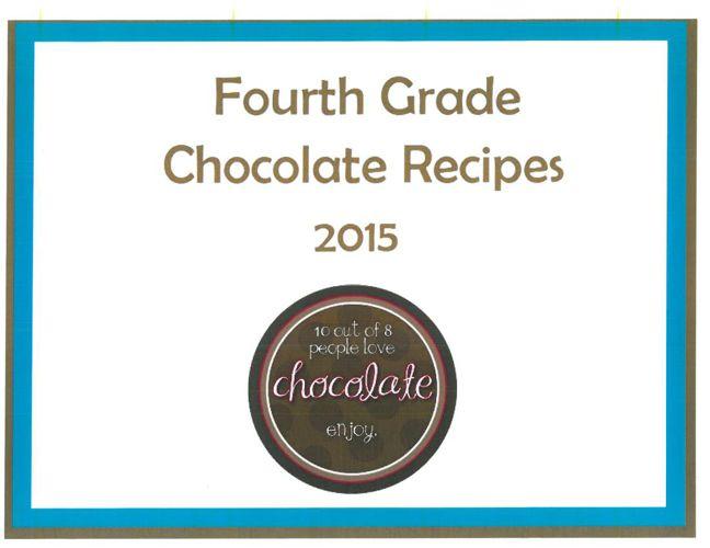 Fourth Grade Recipe Book