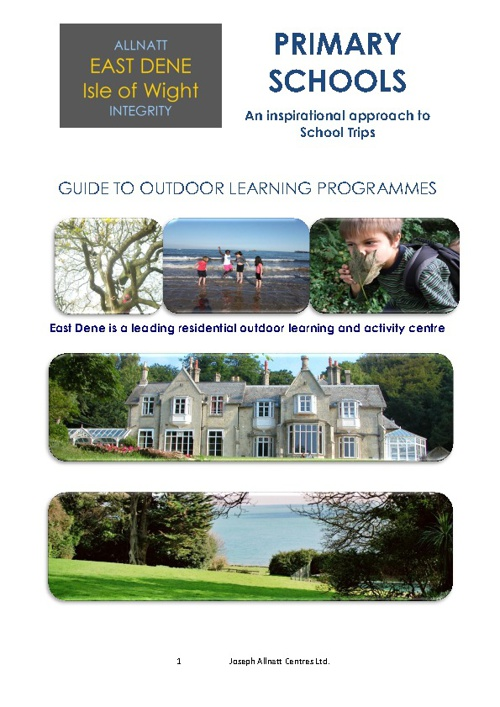 Primary School Programmes at East Dene