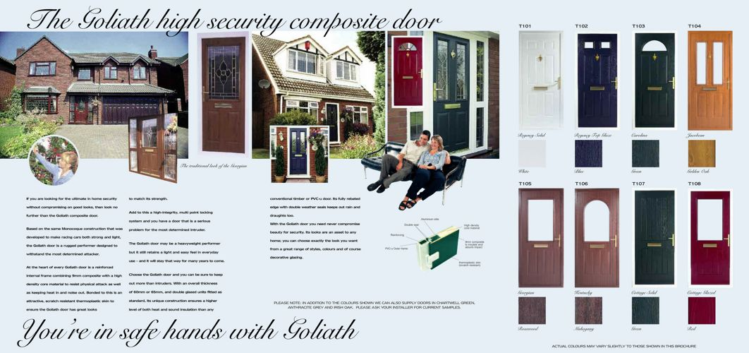 Goliath Door Brochure