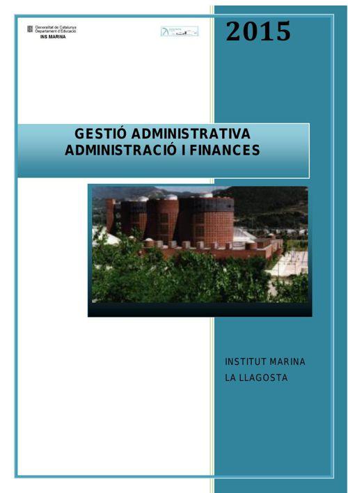 INFORMACIÓ CICLES ADMINISTRATIUS 15