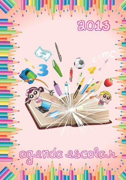 Agenda Escolar Feminina