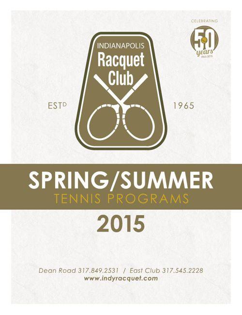 IRC 2015 Spring/Summer Tennis Programs