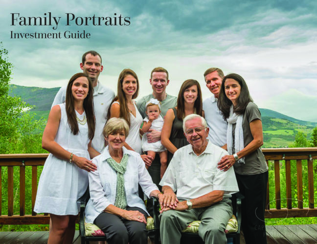 Captured by Cindy Photography - Family Investment Guide
