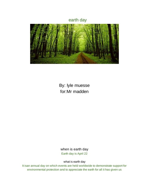earth day 1 - Google Drive