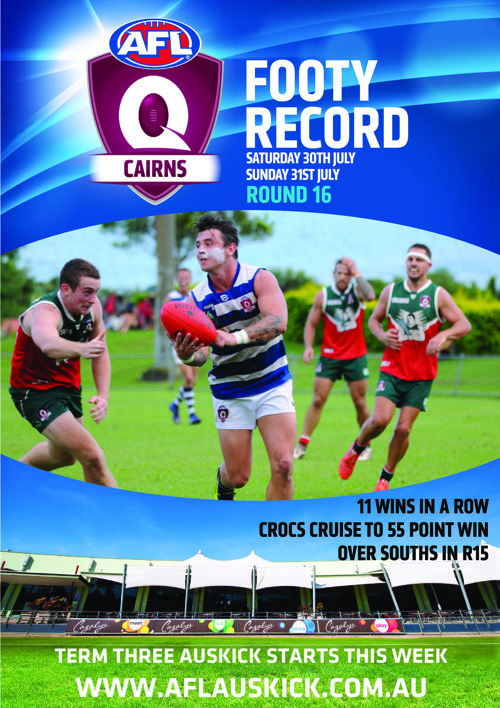 AFL Cairns Footy Record Round 16