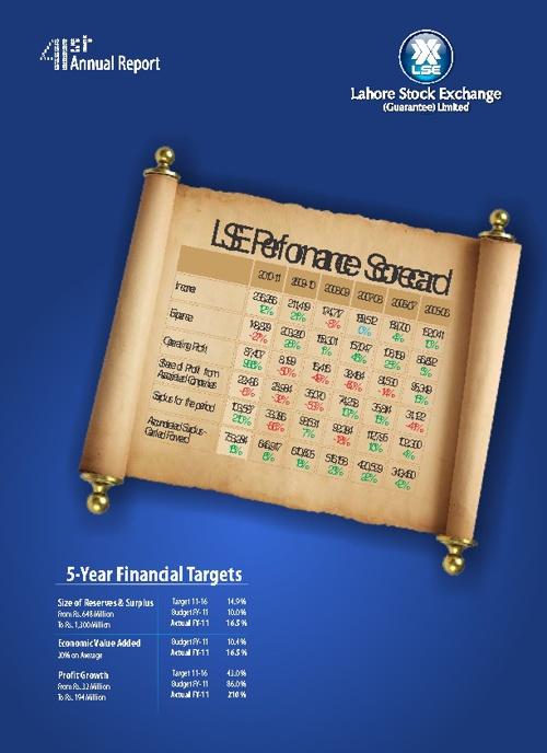 Lahore Stock Exchange Annual Report 2011