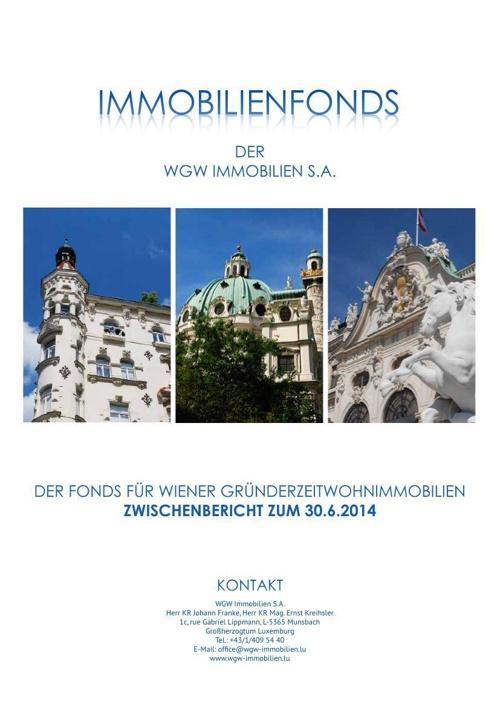 WGW Immobilien Teilfonds 1 - Zwischenbericht zum 30_06_2014_HP