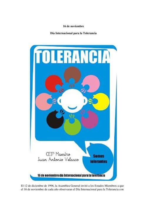 Día de la Tolerancia