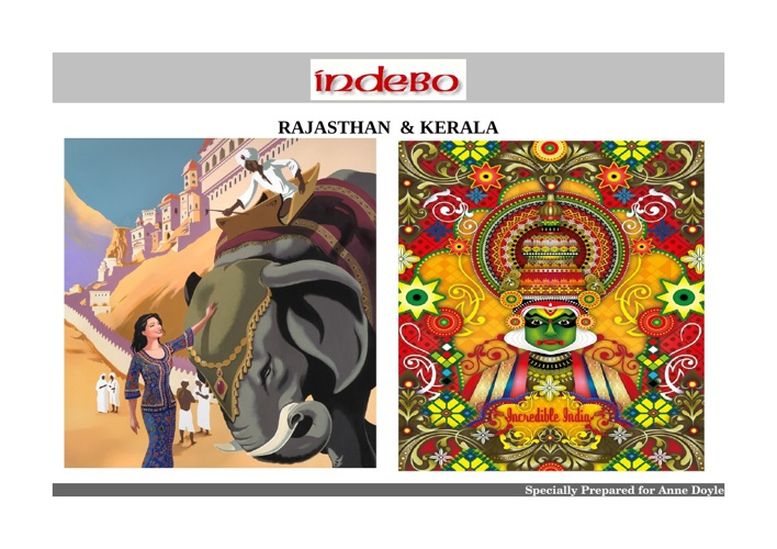 Rajastahn & Kerala