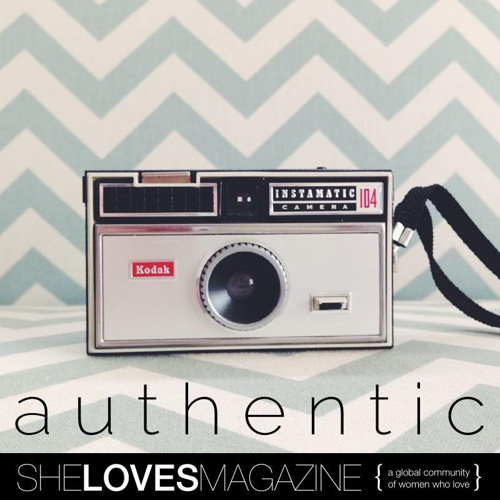 SheLoves #AUTHENTIC