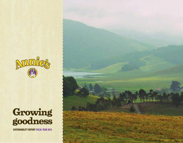 Annie's 2012 Sustainability Report