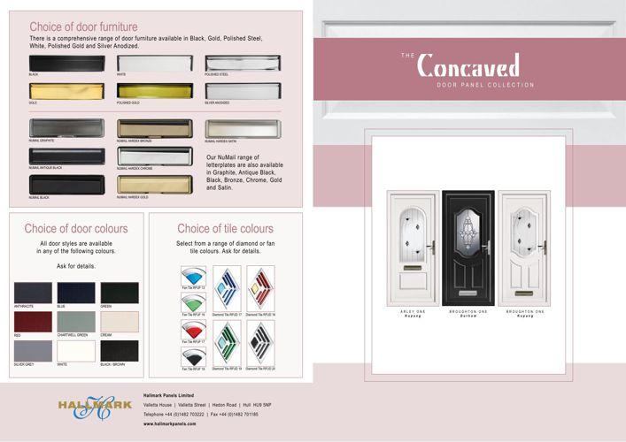 Hallmark Inverted PVCu Panels
