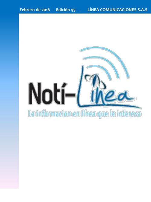 Febrero Noti-Linea No 95 - 2016
