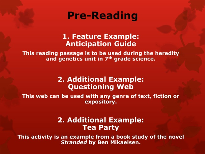Using Questioning as a Reading Strategy