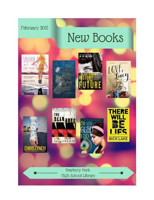 New Books February 2015