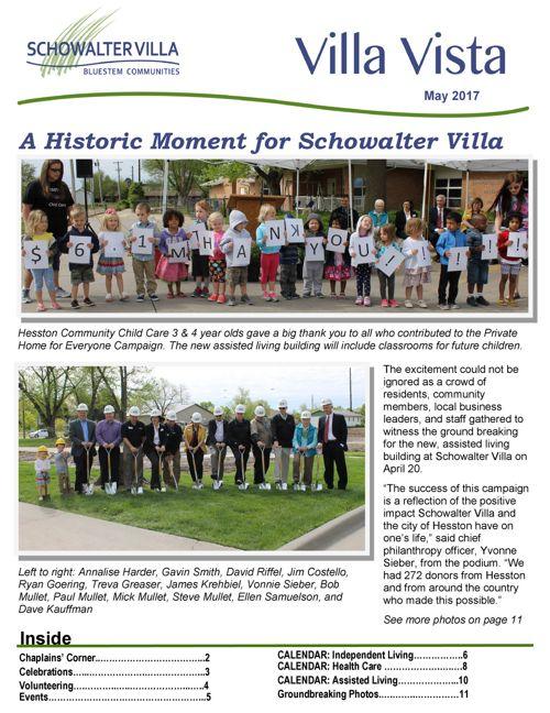 Villa Vista | May 2017