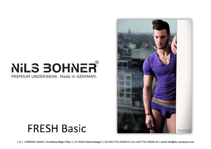 Nils Bohner FRESH Basic