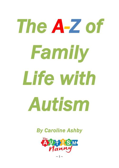 THE A-Z OF FAMILY LIFE WITH AUTISM 2015