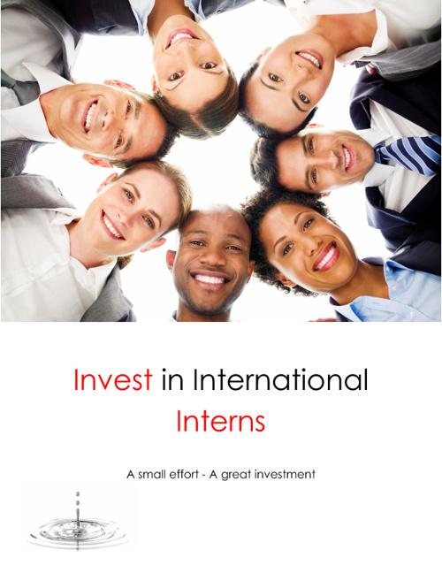 Invest in International Interns