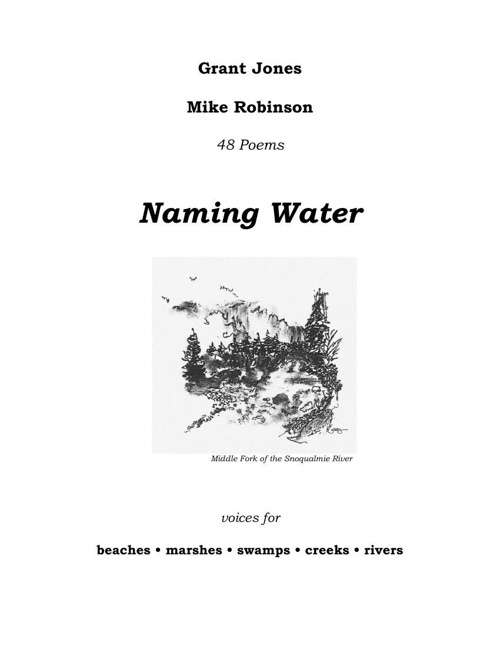 Naming Water