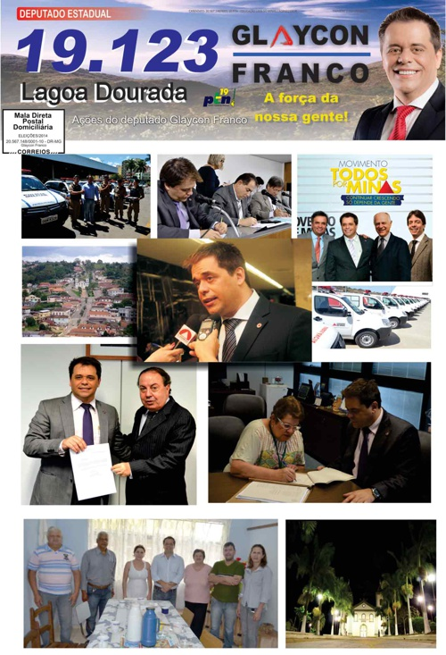Jornal Lagoa Dourada - Glaycon Franco