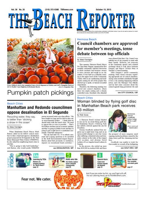 The Beach Reporter | 10-15-15