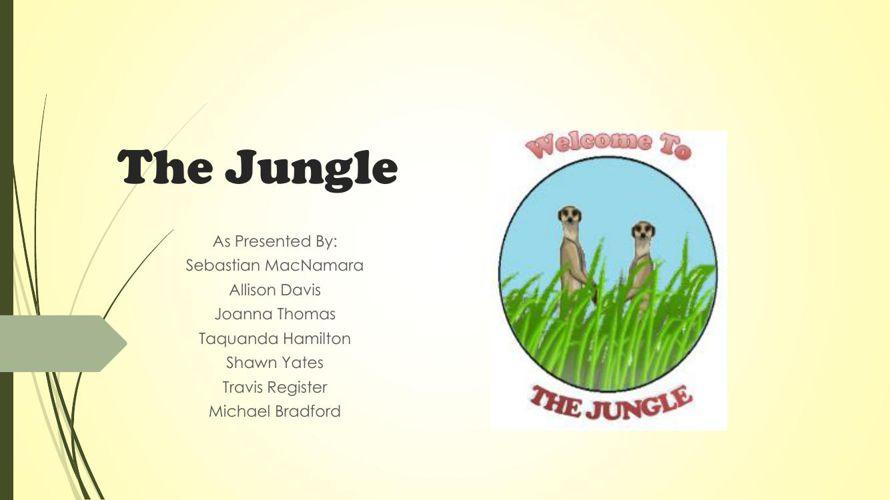 The Jungle Presentation