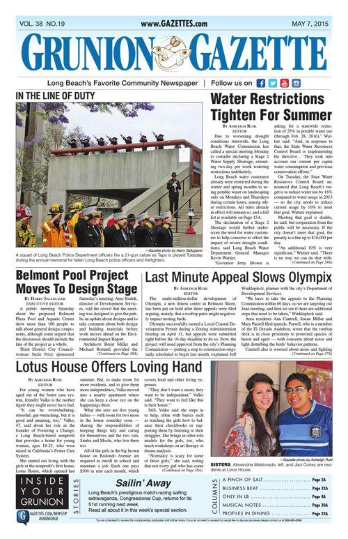 Grunion Gazette | May 7, 2015