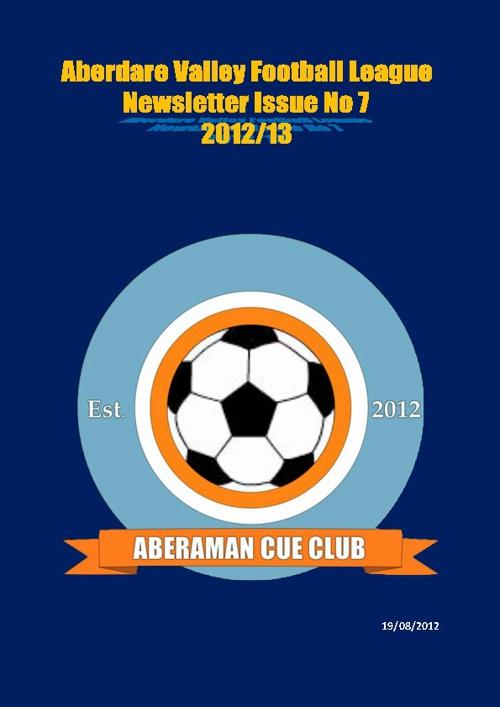 Aberdare League Newsletter Issue 7