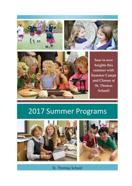 St. Thomas School Summer Camps 2017