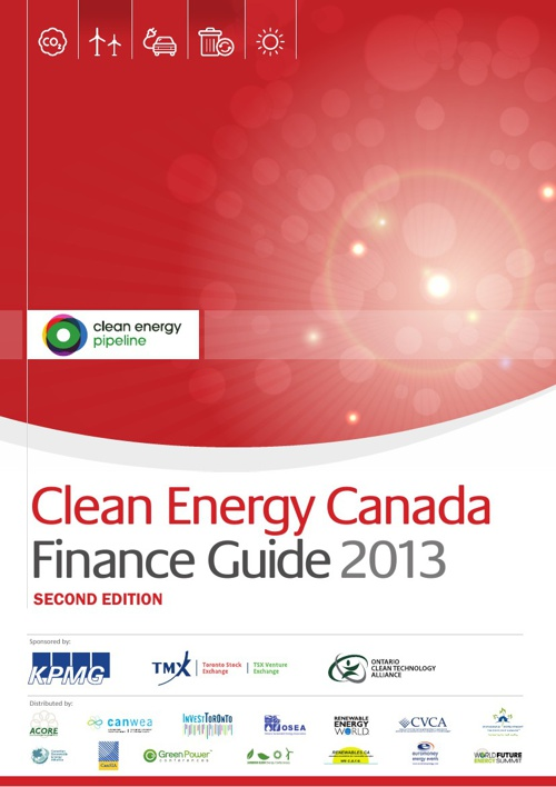 Clean Energy Canada Finance Guide 2013