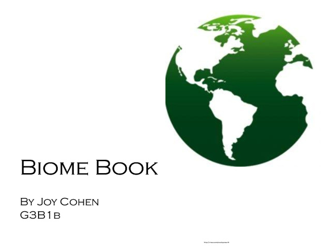 Virtual Biome Book