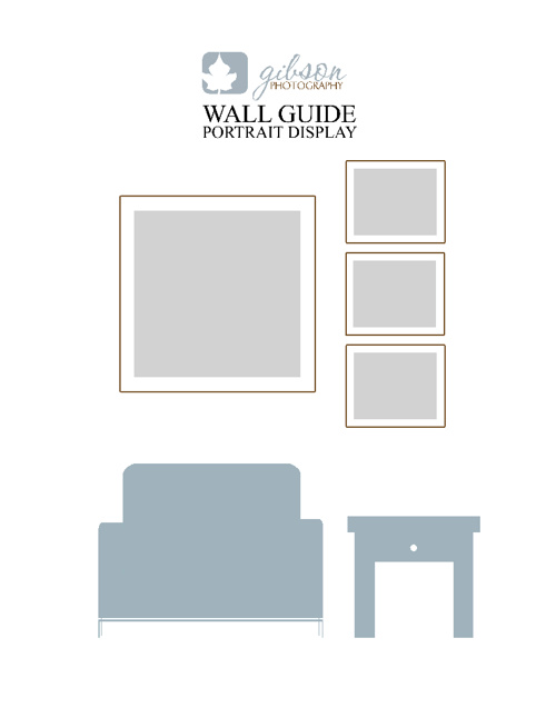 Wall Guide Portrait Display
