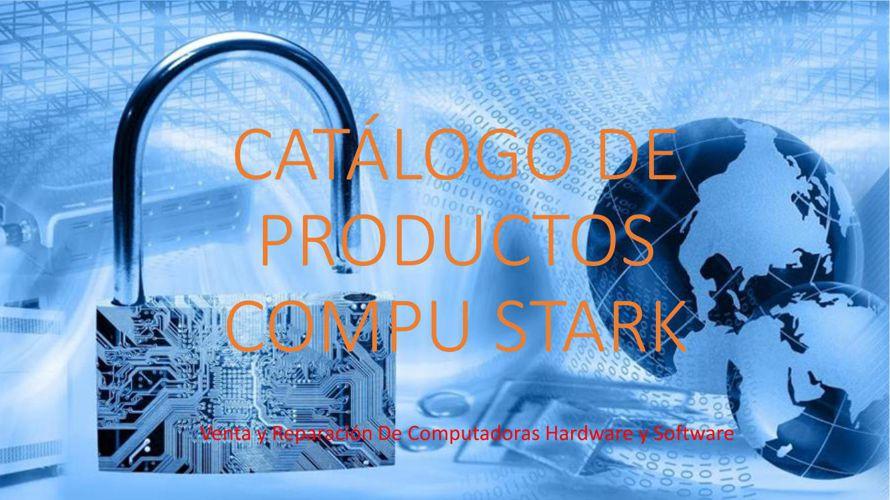 CATÁLOGO DE PRODUCTOS  COMPU STARK