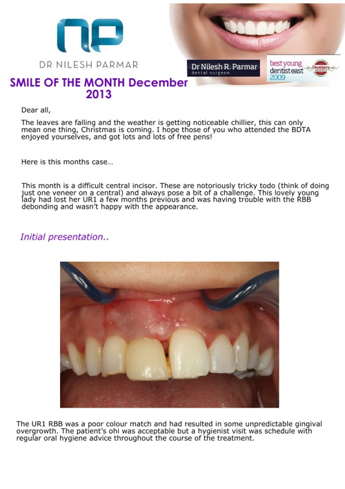 Smile of the Month December 2013
