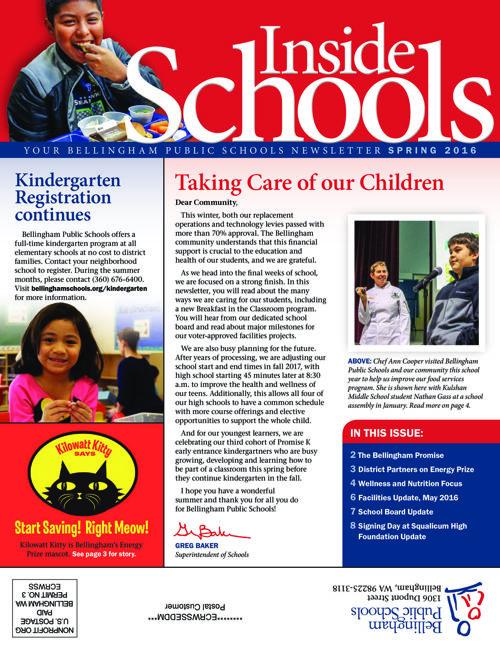 Inside Schools Spring 2016