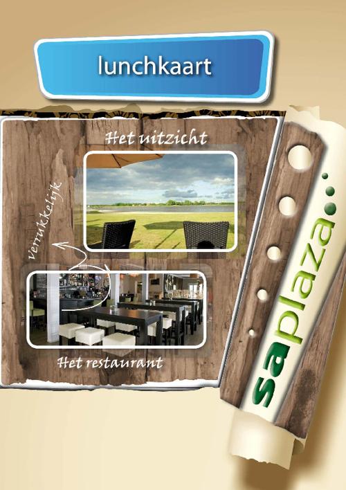 Lunch & Dinerkaart Adventurepark Saplaza