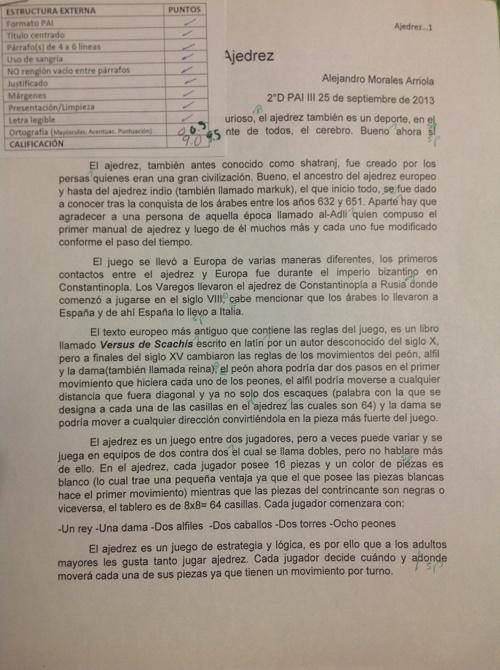 Texto argumentativo Alejandro Morales