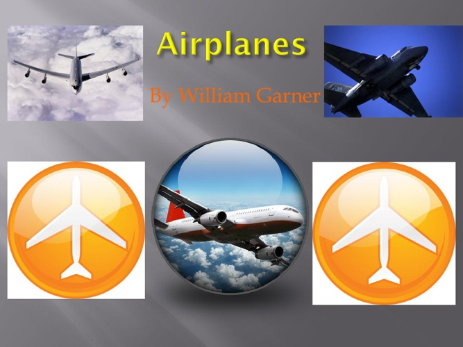 Airplanes by William G.