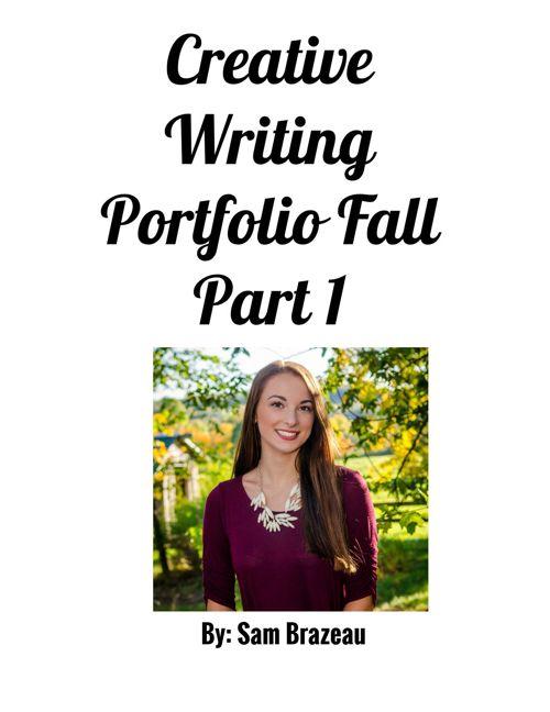 creative writing portfolio part 1